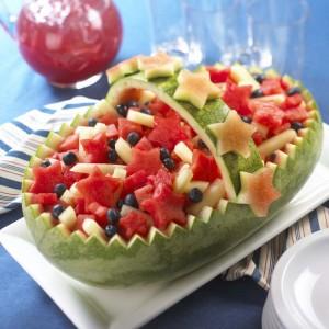 Watermelon Americana Basket