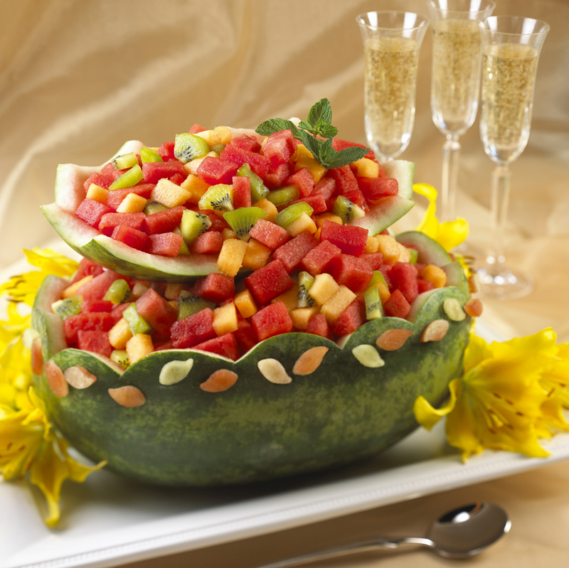 Watermelon Cascading Basket