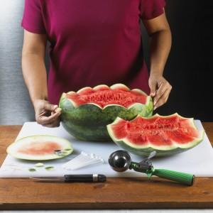 Watermelon Cascading Basket