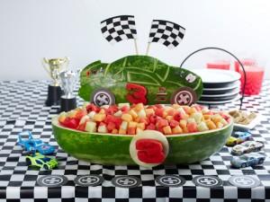Watermelon NASCAR® Race Car
