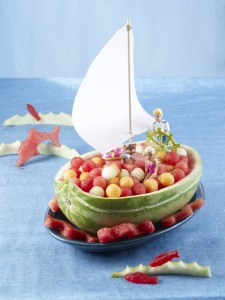 Watermelon Sailboat