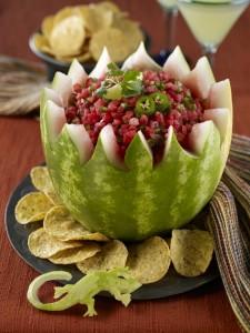 Watermelon Southwest Salsa Bowl