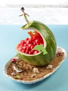 Watermelon Surf Wave